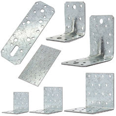 Cina Building Corner Galvanized Steel Angle Brackets Heat Treating High Performance pemasok